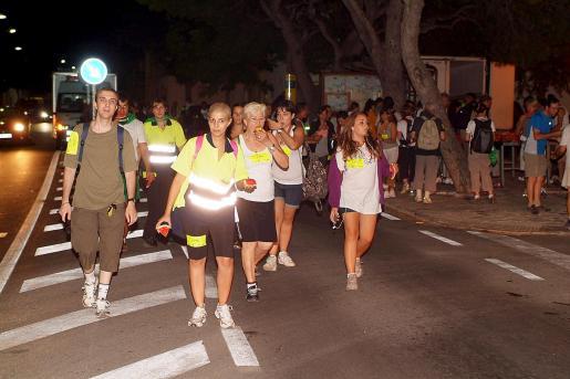 Una imagen que se repitió durante toda la noche: personas de distintas nacionalidades participaron en la jornada haciendo de ella no sólo algo religioso o deportivo sino también multicultural.