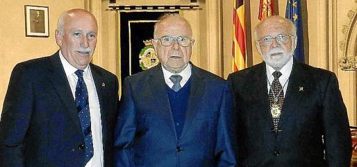 Nadal Torres, José María Sevilla y Román Piña.