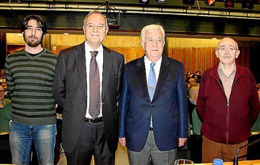 Tomeu Canyelles, Andrés Rotger, Gabriel Cañellas y Lleonard Muntaner.