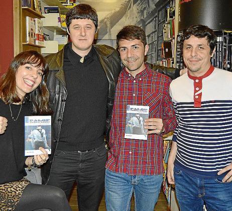 Teba Seijas, Pascual Ulpiano, Daniel Arias y Albert Petit.