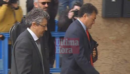 José Luis 'Pepote' Ballester a su llegada al edifico de la EBAP para la celebración del juicio por el caso Nóos.