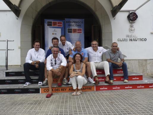 Rafa León, Jaume Carbonell, Javier Sanz, Biel Durán, Alberto Pons, Elena Pipó, Alejandro López-Almagro y José Luis Miró.