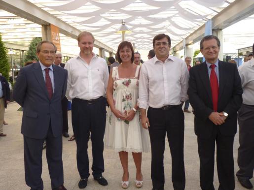 Nemesio Suárez, Ramon Socías, Francina Armengol, Francesc Antich y Juan Ignacio Lema.
