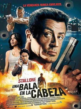 Cartel de la película 'Una bala en la cabeza'.