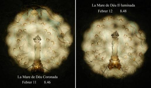 Imagen de archivo de 'La Mare de Déu Il·luminada' y 'La Mare de Dèu Coronada'.