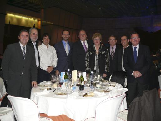 Pere Rotger, Miguel Ramis, Manu Onieva, José Ramon Bauzá, José María Rodríguez, Joana Grau, Joan Rotger, Joan Jaume y Francesc Fiol.