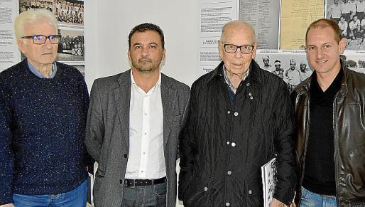 Manuel Sogorb, Juan Manuel Sogorb, Gabriel Pellicer y Jaume Gual.