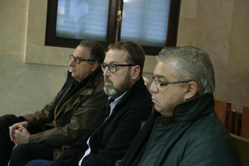 Miquel Ángel Flaquer y Francesc Buils, en el banquillo de los acusado.