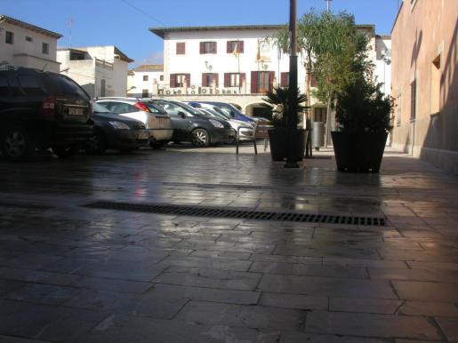 Fachada del Ajuntament de Sant Llorenç.