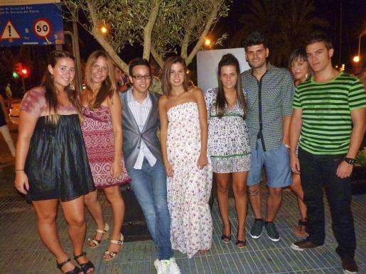 Jeni Merla, Olivia Felíu, Iñaki Muñoz, Lucía Antich, Noelia Àlvarez, Miguel Àngel Ramon, Pilar Hernández y Manuel Sánchez.