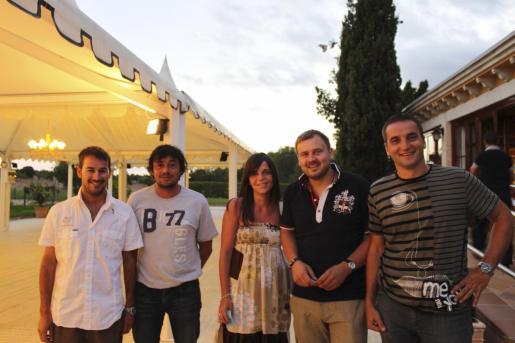 Biel Fullana, Pere Bonet, Nati Vicens, Miquel Pons y Tomeu Cifre.