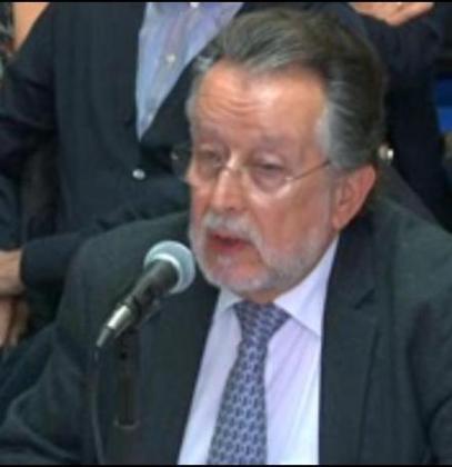 Alfonso Grau, durante su declaración ante el tribunal que juzga el caso Nóos.
