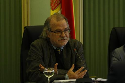 Andreu Manresa, director general de IB3, ha comparecido en el Parlament.