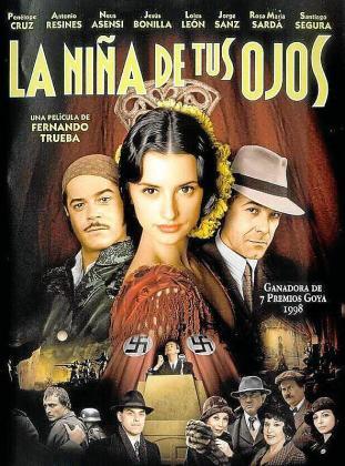 Cartel de la película 'La niña de tus ojos'.