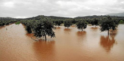 Una imagen de 2012, muy diferente al actual en cuanto a lluvias.