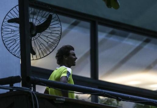 Rafael Nadal, en el Abierto de tenis de Río de Janeiro.