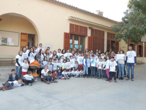 Imagen de una de las muchas protestas reivindicativas que se han celebrado en el transcurso de los últimos años reclamando la nueva escuela pública.
