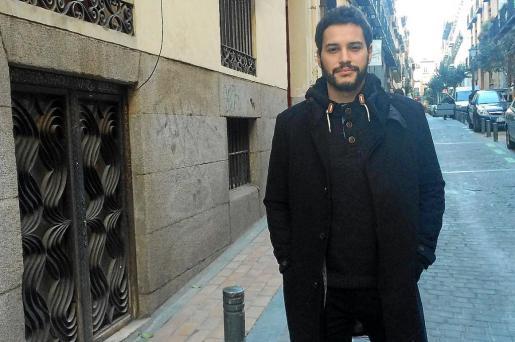 El intérprete Álex Martínez, fotografiado la semana pasada en Madrid, donde reside actualmente.