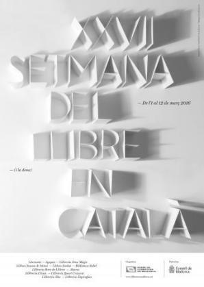 Cartel de la 'XXVII Setmana del llibre en català (i la dona)'.
