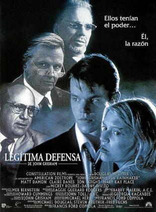 Cartel de la cinta 'Legítima defensa'.