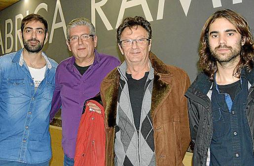 Pep Garau, Salvador Font, Jordi Bonell y Llorenç Barceló.