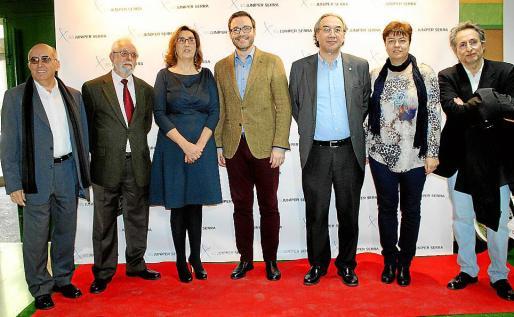 Antonio García Moles, Gabriel Aguilera, Joana Barceló, José Hila, Martí March, Susanna Moll y Miguel Martorell.
