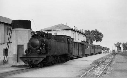 La línea rerroviaria Palma-Inca se inauguró en 1875.