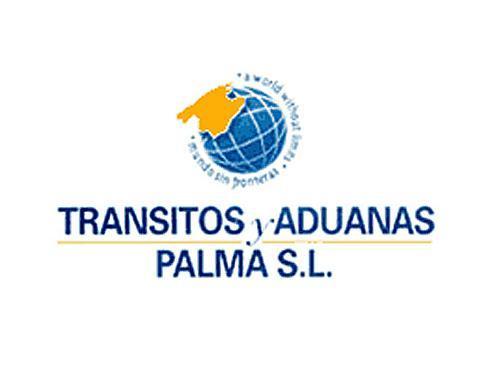 Logotipo de la empresa, que trabaja como transitarios y agentes de carga.