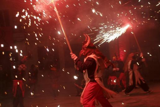 El espectáculo de fuego será el encargado de echar el cierre a esta nueva edición de las fiestas.