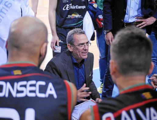 Xavi Sastre espera que su equipo retome el camino de la victoria y poder así seguir aspirando a los puestos de playoff.