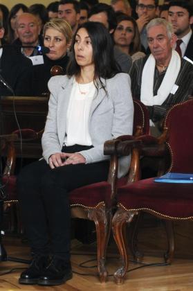 La policía local Raquel Gago, durante el juicio.