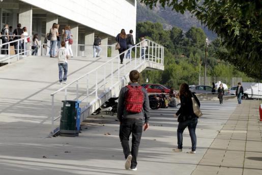Imagen del campus universitario.