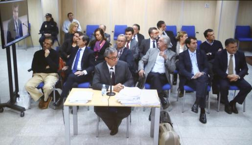 Un momento de la cuarta jornada de la declaración de Diego Torres en el juicio del caso Nóos.