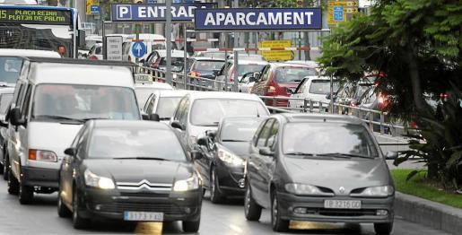 Las Avenidas son una de las zonas de Palma donde el tráfico rodado es más intenso.
