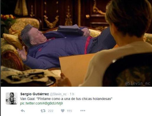 @Slevin_nc ha aprovechado una escena de 'Titanic' para que Leonardo di Caprio lo pinte.