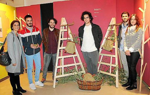 Inmaculada Munar, Francesc Bennàssar, Joan Morell, Alejandro Sanz, Andrés Ramírez y Marga Baliza.