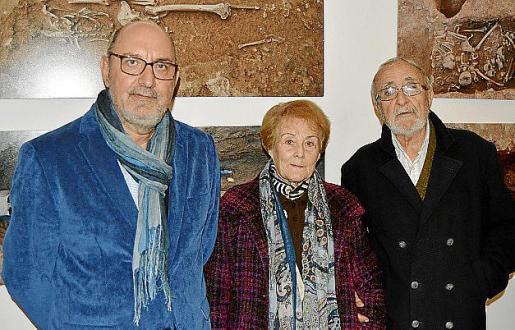 Joan Rigo, Catalina Mestre y Miquel Riera.