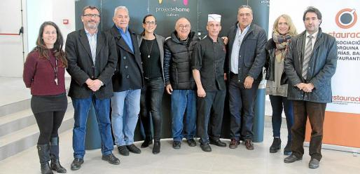 Carmen Muñoz, Jesús Mullor, Manuel Zaragoza, Aurelia Pérez, Tomeu Català, Toni Sitges, Alfonso Robledo, Lina Pons y Xavier Bonet.