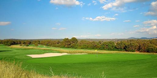 Imagen del Golf Park Puntiró que se encuentra en la carretera vieja de Sineu, en el término de Palma.
