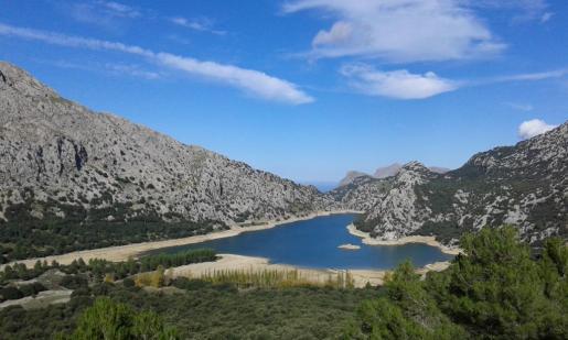 Imagen del Grog Balu tomada desde el Puig de Tossals.