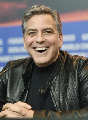 El actor estadounidense George Clooney durante una rueda de prensa para presentar la película '¡Ave, César!' en la 66ª edición del Festival Internacional de Cine de Berlín.