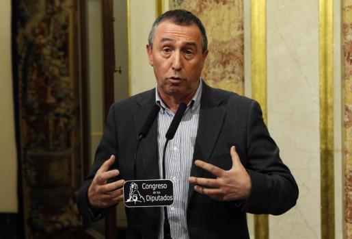El portavoz de Compromís, Joan Baldoví.
