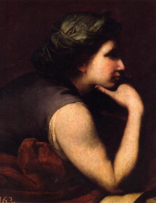 'Cabeza femenina (Sibila) (1634-1635)', de Ribera.