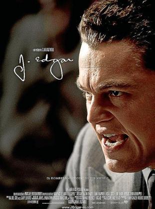 Cartel del film 'J. Edgar'.