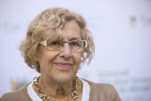 La alcaldesa de Madrid, Manuela Carmena, en una imagen de archivo.