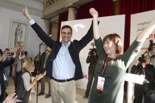 La presidenta del Govern, Francina Armengol, ha lamentado este sábado el «bloqueo» a la investidura de Pedro Sánchez y ha acusado a los partidos de pensar «en tácticas electorales en lugar de en el bien del país».