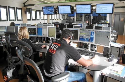 Central de emergencias del 112.