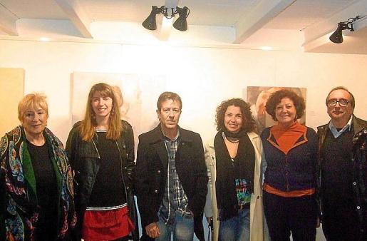 Caty Fiol, Laura R. Villarino, Juan Rauz, Giovanna Marini, Francisca Llabrés y Miquel Àngel Benito.