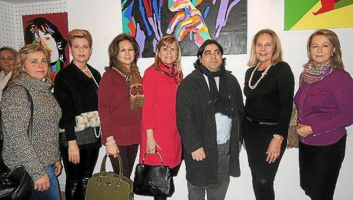 Cati Gelabert Niell, Aina Aguiló, Rosa Ruesga, Antonia Nadal, José Luis Mesas, Águeda Ropero y Antonia Sánchez.