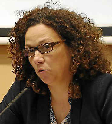 Catalina Cladera, consellera de Hisenda.